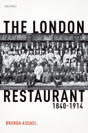 The London Restaurant  1840 1914