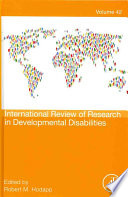 International Review Of Research In Developmental Disabilities Book PDF