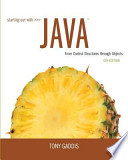 Starting Out with Java: From Control Structures Through Objects Plus Myprogramminglab with Pearson Etext -- Access Card Package