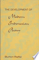 The Development of Modern Indonesian Poetry