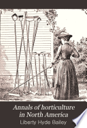 Annals of Horticulture in North America Book