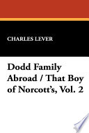 Dodd Family Abroad   That Boy of Norcott s Book