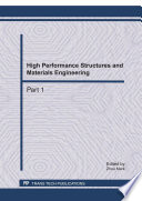 High Performance Structures And Materials Engineering Book PDF