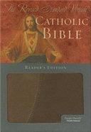 The Revised Standard Version Catholic Bible