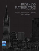 Business Mathematics Value Package Includes Mathxl 12 Month Student Access Kit  Book PDF