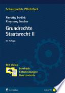 Pieroth/Schlink ua, Grundrechte. Staatsrecht II. Mit ebook