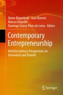 Contemporary Entrepreneurship Pdf/ePub eBook