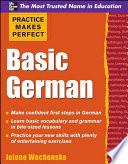 Practice Makes Perfect Basic German Book