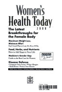 Women s Health Today 2000 Book