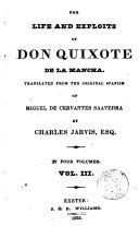 The Life and Exploits of Don Quixote de la Mancha 3