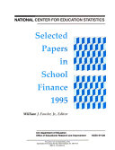Selected Papers in School Finance