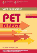 PET Direct Workbook with Answers