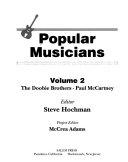 Popular Musicians  The Doobie Brothers Paul McCartney Book