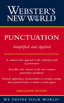 Webster s New World Punctuation