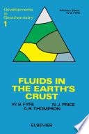 Fluids In The Earth S Crust Book PDF