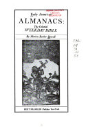 Early American Almanacs   the Colonial Weekday Bible