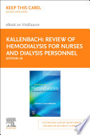 Review of Hemodialysis for Nurses and Dialysis Personnel   E Book