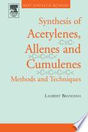 Best Synthetic Methods: Acetylenes, Allenes and Cumulenes