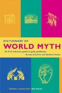 Dictionary of World Myth Pdf/ePub eBook