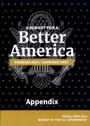 A Budget for a Better America