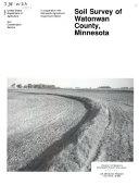 Soil Survey of Watonwan County, Minnesota