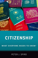 link to Citizenship : what everyone needs to know in the TCC library catalog