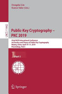 Public Key Cryptography Pkc 2019