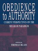 Obedience to Authority Pdf/ePub eBook