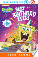 Best Birthday Ever   SpongeBob SquarePants  Book