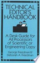 Technical Editor's Handbook