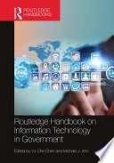 Routledge Handbook On Information Technology In Government Book PDF