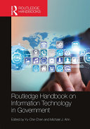 Pdf Routledge Handbook on Information Technology in Government Telecharger