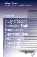 Study of Second Generation High Temperature Superconductors  Electromagnetic Characteristics and AC Loss Analysis