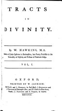 Tracts in divinity