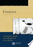 Aspen Treatise for Evidence Book