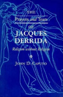 The Prayers and Tears of Jacques Derrida [Pdf/ePub] eBook