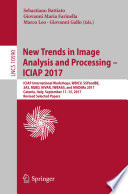 New Trends in Image Analysis and Processing     ICIAP 2017