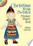 Christina from Sweden Sticker Paper Doll