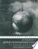 An Introduction to Global Environmental Issues Book PDF