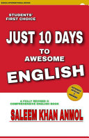 Just Ten Days to Awesome English