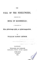 The Fall of the Nibelungers