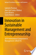Innovation in Sustainable Management and Entrepreneurship Book
