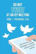 Do Not Tweet at an IEP Meeting