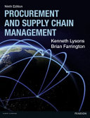 Procurement and Supply Chain Management Book