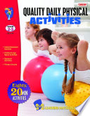 Gr  2 3 Canadian Quality Daily Physical Activities   80 Activities Adapted for Classroom   Outside