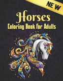 Horses Coloring Book Adults