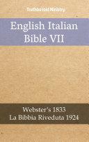 English Italian Bible VII