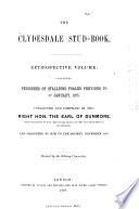 The Clydesdale Stud book