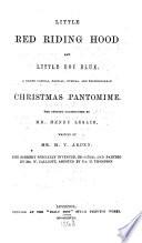 Pantomimes  1868