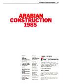 Arabian Construction Book
